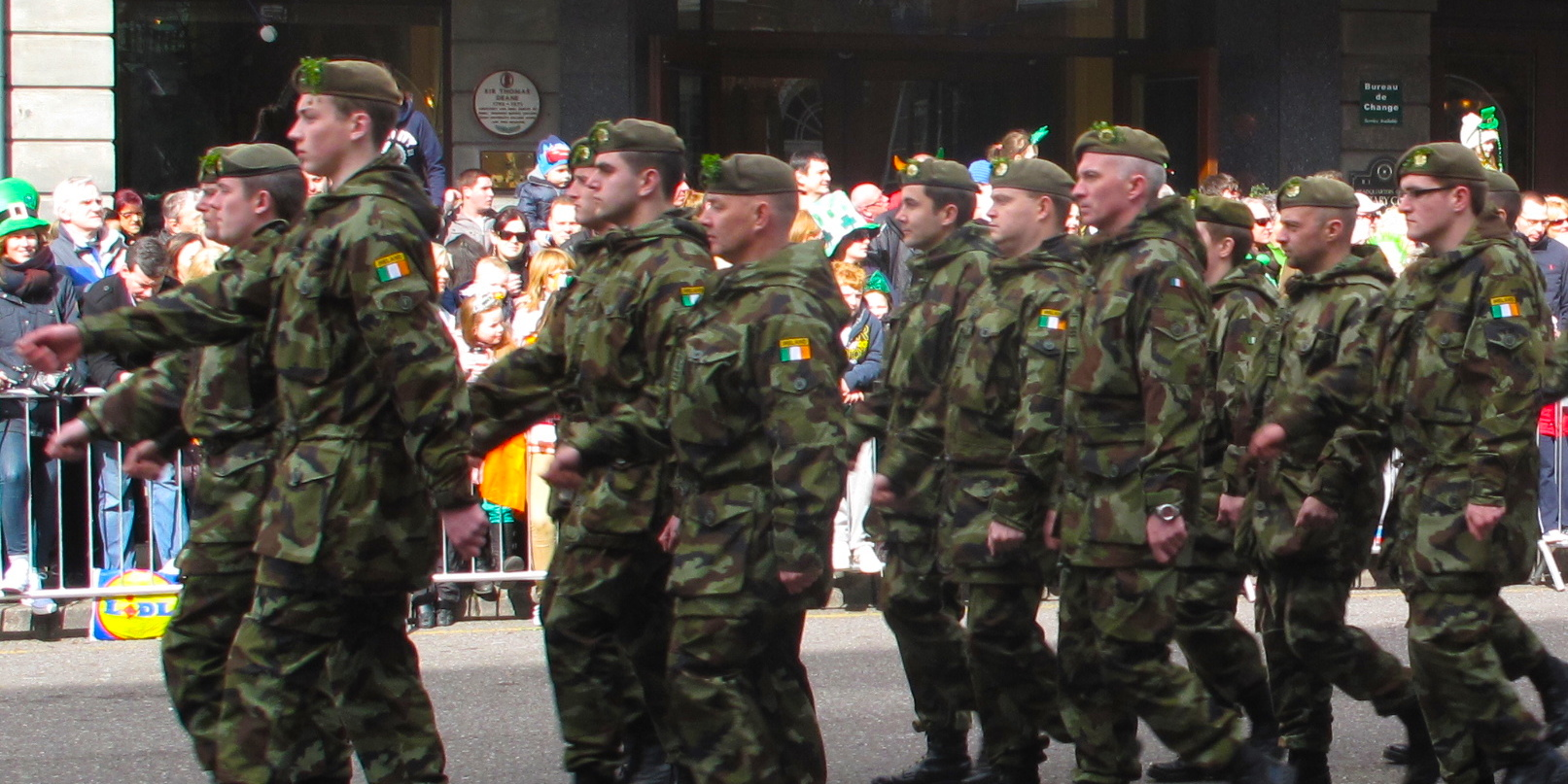 St_Patricks_Day_Parade_Cork_Ireland_South_Mall_Army_Fatigues
